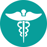 Medical wings icon
