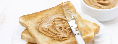 Peanut butter on toast kidney diet friendly