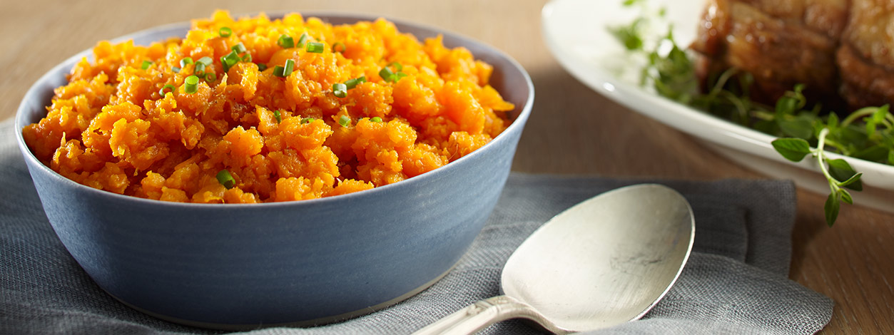 mashed carrots recipe