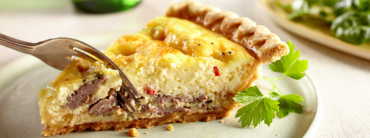 cheesesteak quiche recipe