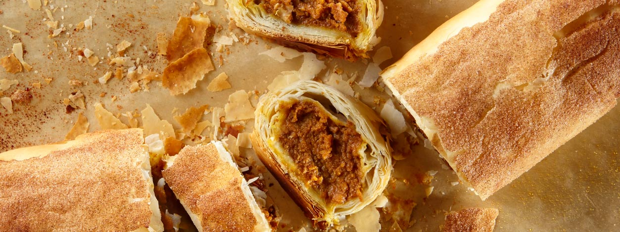 pumpkin strudel recipe