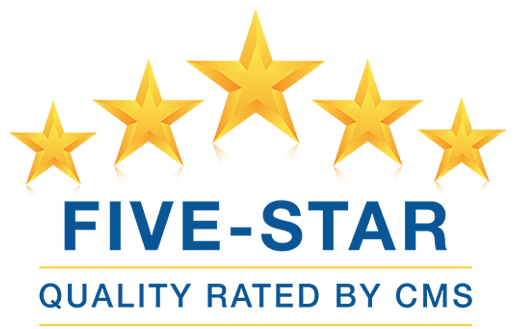 Five star quality rating.